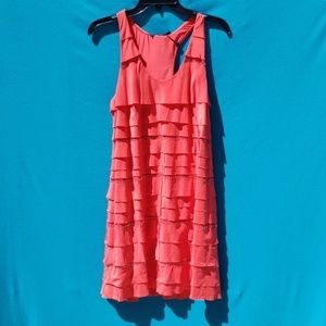 BCBGMaxAzria Dresses - BCBGMAXAZRIA 100% Silk Sleeveless Dress Size Small